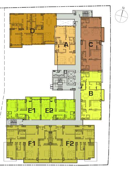 Floor Plan L4 - L12